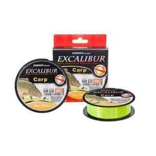 ET Excalibur Carp Fluo Galben 0.25mm 300m