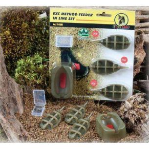 Set 3 Momitoare Method Feeder Extra Carp (20-25-30g)