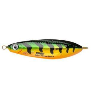 Rapala Rattlin Minnow Spoon Flash Perch 8cm 16g