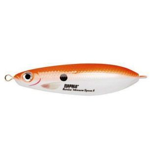 Rapala Rattlin Minnow Spoon Fluorescent Red Pearl 8cm 16g