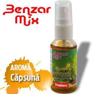 Spray Fluo Booster Benzar Mix Aroma Capsuni 30ml