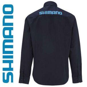 Camasa Shimano Navy M