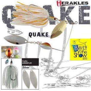 Colmic Herakles Spinnerbait Quake Silver 17.5g