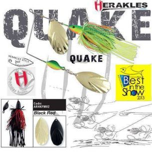 Colmic Herakles Spinnerbait Quake Black/Red 42g