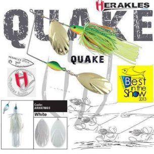 Colmic Herakles Spinnerbait Quake White 42g