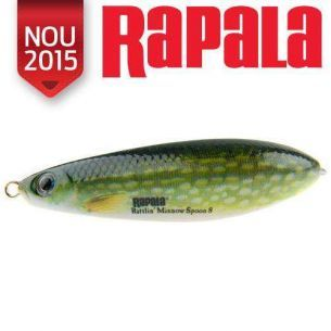 Oscilanta Antibradis Rattlin Minnow Spoon Pike 8cm 16g