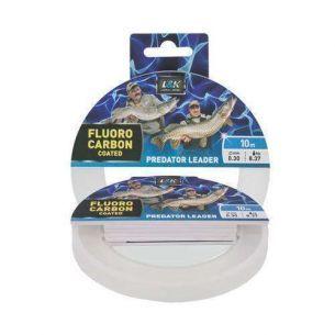 L&K Fluorocarbon Coated Predator Leader 0.50mm 10m
