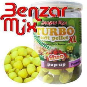 Pelete Soft Benzar Mix Turbo Soft Pellet XL Crap-Caras 50g
