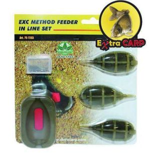 Set 3 Momitoare Method Feeder Extra Carp (20-30g-40g)