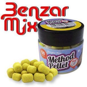 Pelete Benzar Mix Method Pellet Pop Up Miere Galben 50buc