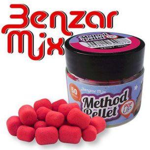 Pelete Benzar Mix Method Pellet Pop Up Capsuni Rosu 50buc
