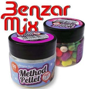 Benzar Mix Method Pellet Tutti Frutti (Multicolor)