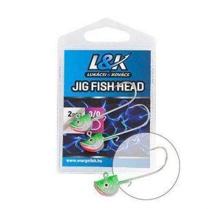 L&K Jig Fish Head 3/0 12g 2buc
