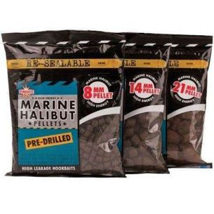 DB Marine Halibut Pellets Pre-Drilled 14mm 350g