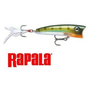 Popper Stiuca Rapala X-Rap Pop XRP07 Yellow Perch 7cm 11g