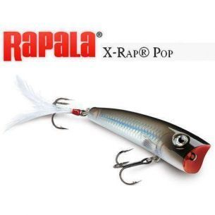 Popper Rapala X-Rap Pop Pearl Grey Shiner 7cm 11g