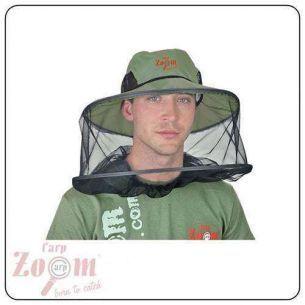 Palarie cu Plasa Protectie Tantari Carp Zoom