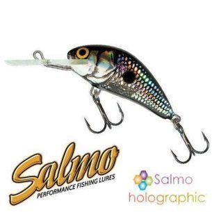 Vobler Salmo Hornet H3F Black Silver Shad