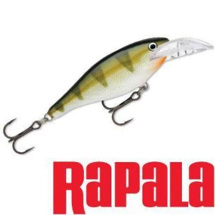 Vobler Rapala Scatter Rap Shad Deep Yellow Perch 7cm 7g