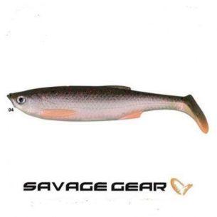 SG Shad Bleak Paddle Tail Green Pearl Silver Bleak 8cm 4g (5buc)