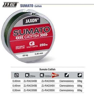 Fir Textil Pentru Somn Jaxon Sumato Catfish 0.45mm 250m 65kg