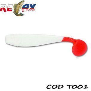 King Shad Tail 10cm (Cul:001) 10buc