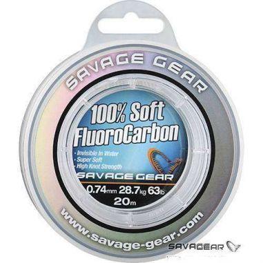 Fir Fluorocarbon Savage Gear Soft 0.17mm 50m 2.1kg
