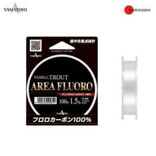 Yamatoyo Famell Trout Area Fluoro 0.092mm 100m