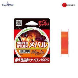 Yamatoyo Famell Super Nylon Mebaru 0.128mm 100m