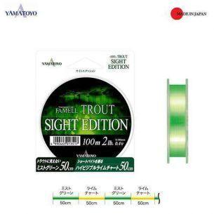 Yamatoyo Famell Trout Sight Edition 0.117mm 100m