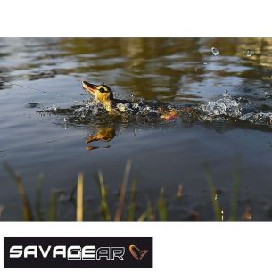 Naluca Stiuca Rata Savage Gear 3D Suicide Duck Natural 15cm 70g