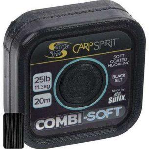 Carp Spirit Combi Soft Black Silt 20m 11.3kg 25lb