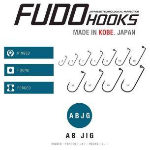 Carlige Jig Fudo AB Made in Japan Nr.1/0 50buc