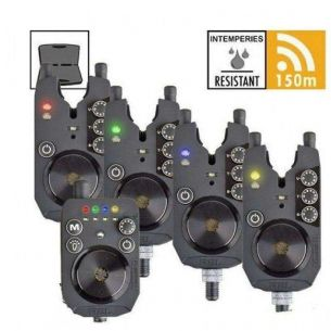Set 4 Avertizori Electronici Prologic R2L + Receiver