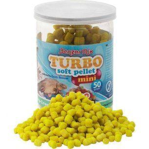 Benzar Mix Turbo Soft Pellet Mini Krill (Rosu) 50g