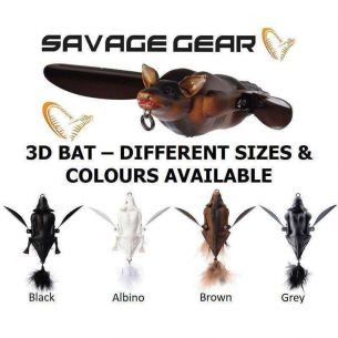 SG 3D Bat Brown 12.5cm 54g