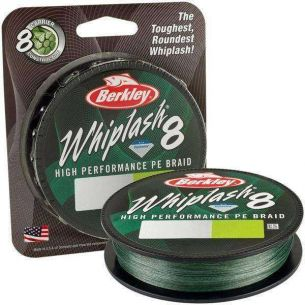 Berkley Whiplash 8 Green 0.20mm 27.70kg 150m