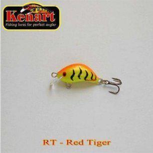 Vobler Kenart Hunter Red Tiger 3cm 3g