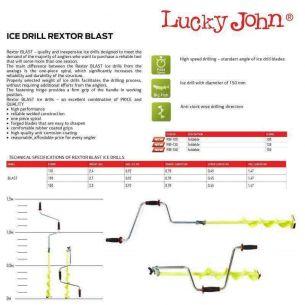 Freza Copca LJ Rextor Blast 1.47m/130mm