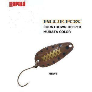 Oscilanta Blue Fox More-Ungen NBWB 2.6cm 2.5g