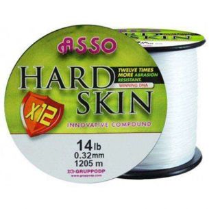 Asso Hard Skin Solid White 0.35mm 1050m