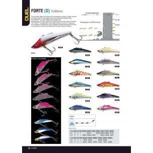 Vobler Duel Forte 8.5cm, 20gr WHPI
