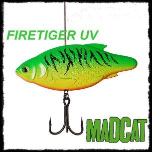 Vobler Somn Madcat Inline Rattler Firetiger 130mm 110g
