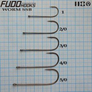 Jig Articulat Fudo Worm SSB cu spini Nr.3/0 8g (5buc)