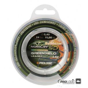 Leader Prologic Mimicry Green Helo 0.40mm 100m