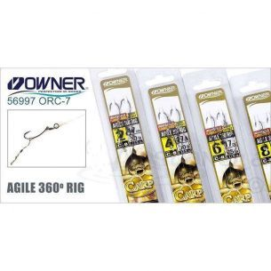 Montura Crap Owner 56997 Agile 360 No.4 30lb