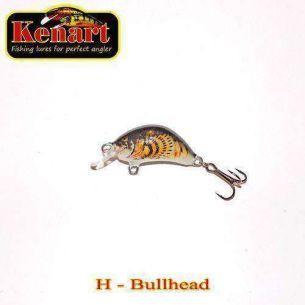 Vobler Kenart Hunter Bullhead (sinking) 2cm 2g