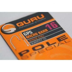 Carlige Guru GPS Micro Barbed Nr.20 (10buc)