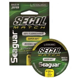 Fir Fluorocarbon Colmic Seaguar Secol Match 50m 0.235mm
