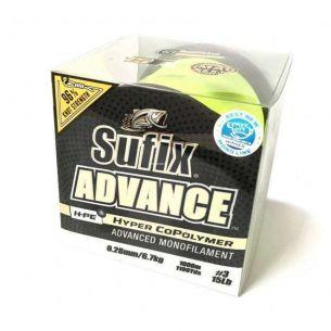 Fir Monofilament Sufix Advance 0.18mm 1000m